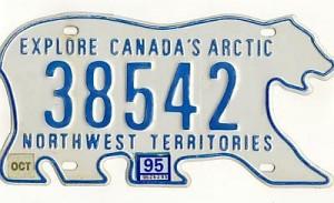 Plaque dimmatriculation au Canada